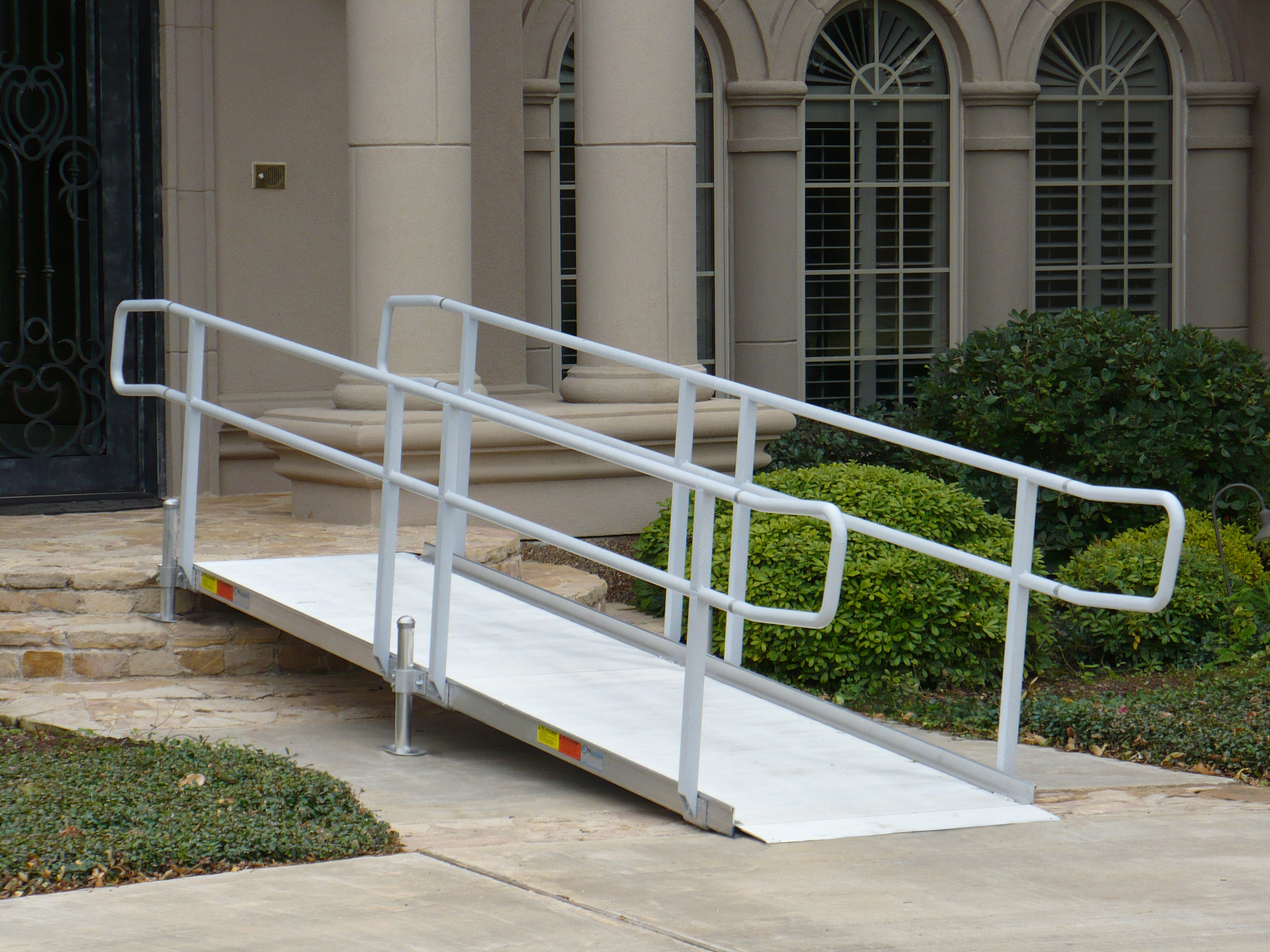 Image gallery wheelchair ramp for Handicap homes