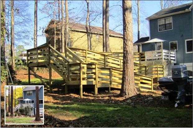 Atlanta Home Modifications, LLC 100' Ramp