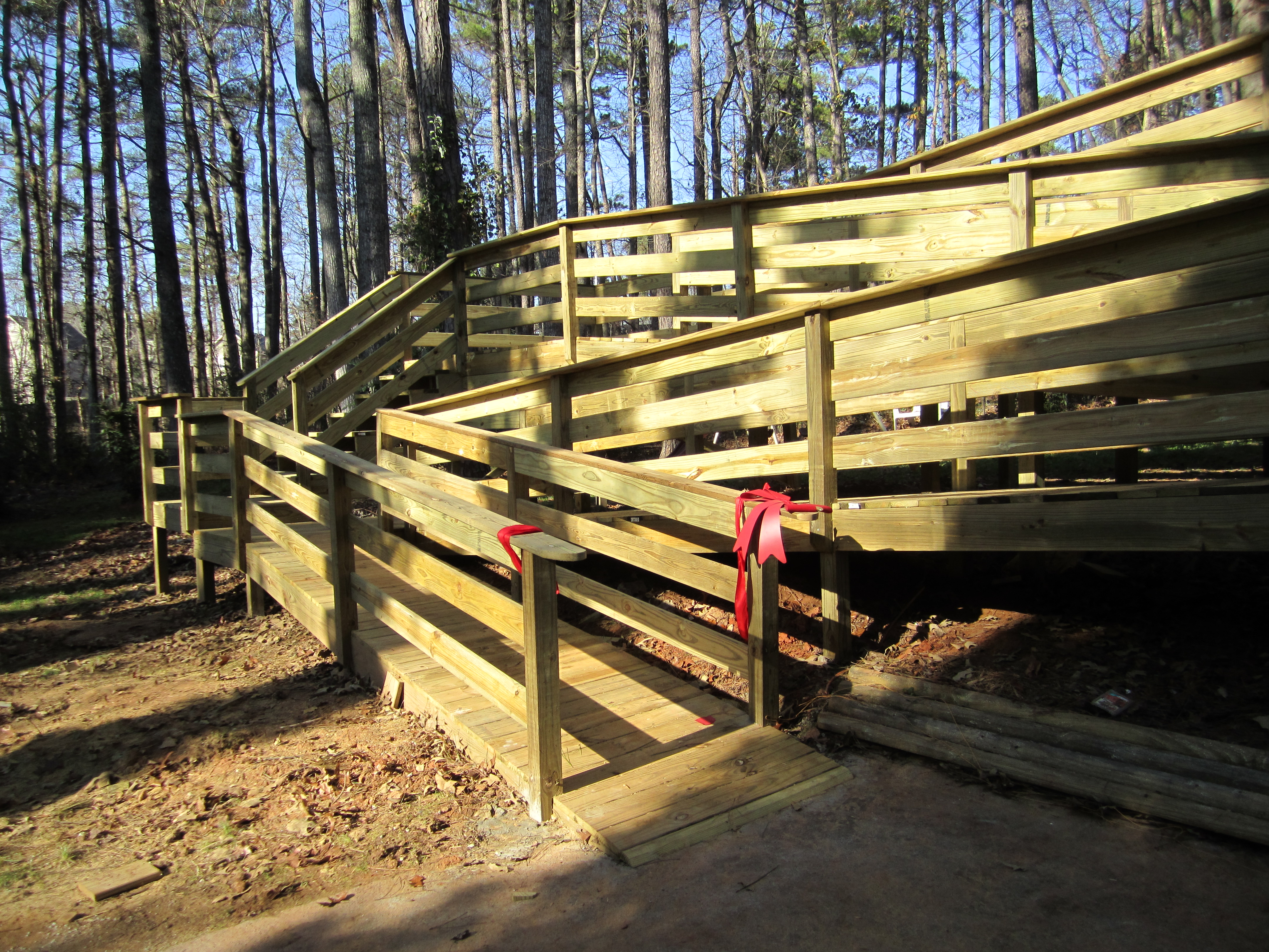 wood handicap ramp plans